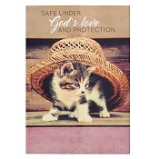 Safe under God's love and protection : Notepads - 104 x 148 mm