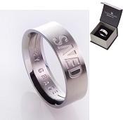 Saved - Size 12 (22 mm) : Ring - Men