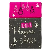 101 Prayers to share : Boxes of blessings - 50 cards