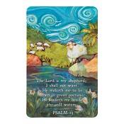 Psalm 23 : Minicard - 64 x 102 mm
