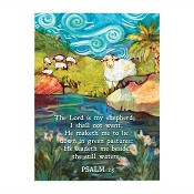 Psalm 23 : Magnet - 76 x 102 mm