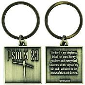 Psalm 23 : Keyring Square
