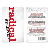 Radical believer : Pocket card PVC