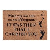 Footprints : Doormat - 40 x 60 cm