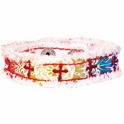 Rainbow crosses : Canvas bracelet - Cherished