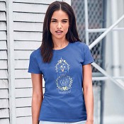 Shine so others can see His light - Blue : T-Shirt - XXL