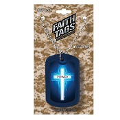 Power - Cross : Necklace - Faith tag