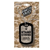 Stand strong : Necklace - Faith tag