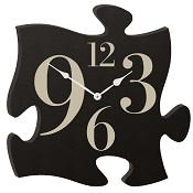 Black clock : Puzzle piece
