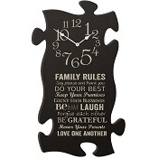 Clock - Family rules : Puzzle Piece