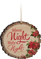 Silent night Holy night - Ornament : Christmas