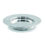 Polished Aluminium Stacking Bread Plate : Communion Ware