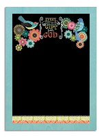 Everyday is a Gift from God : Chalkboard sign - 34 x 47,5 cm