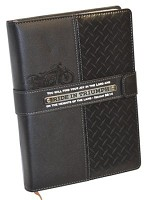 Ride in Triumph : Journal - Leather