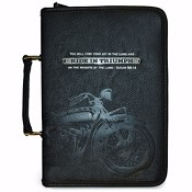 Ride in Triumph : Biblecover LuxLeather - Large