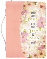 Hope Joy Peace - 156 x 229 x 45 mm : Biblecover LuxLeather - Medium