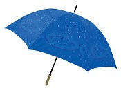 Rain drops with Ichthus : Umbrella - 152 cm
