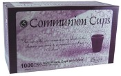 1000 Communion cups with etched cross : Communion ware