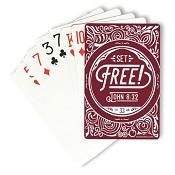 Set Free! - John 8:32 : Playing cards