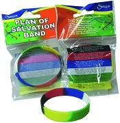 Plan of Salvation : Silicon bracelet