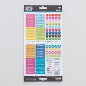 Planner pieces - Cardstock stickers : Illustrated Faith - Basics