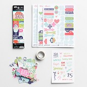 Advent - Bible journaling kit : Illustrated Faith - Limited edition