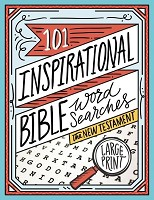 0 : 101 Inspirational Bible Word Searches : puzzle book