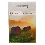 1 : A bountiful harvest - Words of hope : Gift book