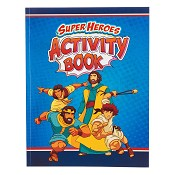 1 : Activity Book Super Heroes : Childrens book