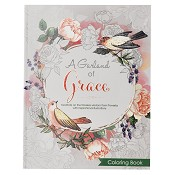 1 : A garland of Grace : Coloring book for adults