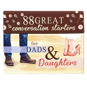 1 : 88 starters for dads and daughters : Conversation starter box