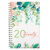 1 : 20 Twenty : 2020 Wirebound daily planner - 12 month