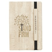 1 : Stand firm - 160 dot grid pages : Bullet journal LuxLeather- 140 x 205 mm