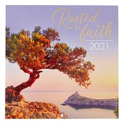 1 : Rooted In Faith : 2021 Wall Calendar Large