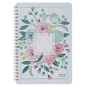 1 : 2022 Faith Gives Wings : 2022 Wirebound planner