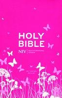 1 : Pocket Bible with Zip - pink : Bible - NIV