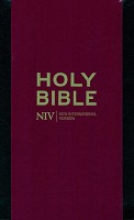 1 : Pocket Bible with Zip - Black : Bible - NIV