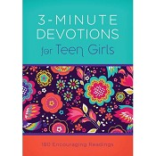 1 : 3-Minute Devotions for Teen Girls : Barbour