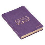 1 : It is well with my soul : LuxLeather journal - 125 x 175 mm