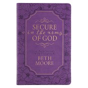 1 : Secure in the arms of God - Beth Moore : Journal - LuxLeather