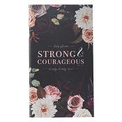 1 : 2022 Strong and Courageous - Joshua 1:9 : 2022 Small daily planner - 24 months