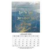 1 : 2022 I Know The Plans- Jeremiah 29:11 : 2022 Mini magnetic calendar - 9 x 15 cm