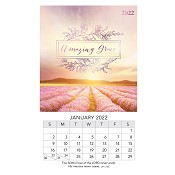1 : 2022 Amazing Grace : 2022 Mini magnetic calendar - 9 x 15 cm