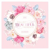 1 : 2022 Collect Beautiful Moments : 2022 Large wall calendar - 25 x25 cm