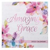1 : 2022 Amazing Grace : 2022 Large wall calendar - 25 x25 cm
