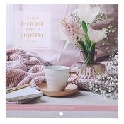 1 : 2022 Cheerful Heart : 2022 Small wall calendar - 14 x14 cm