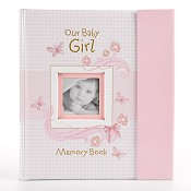 1 : Our Baby Girl Memory Book : Memory book