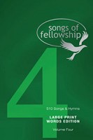 1 : Songs of fellowship 4 words large p : Songs of fellowship