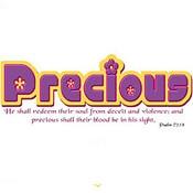 Precious : Christelijk T-Shirt