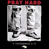 Pray hard : Christelijk T-Shirt